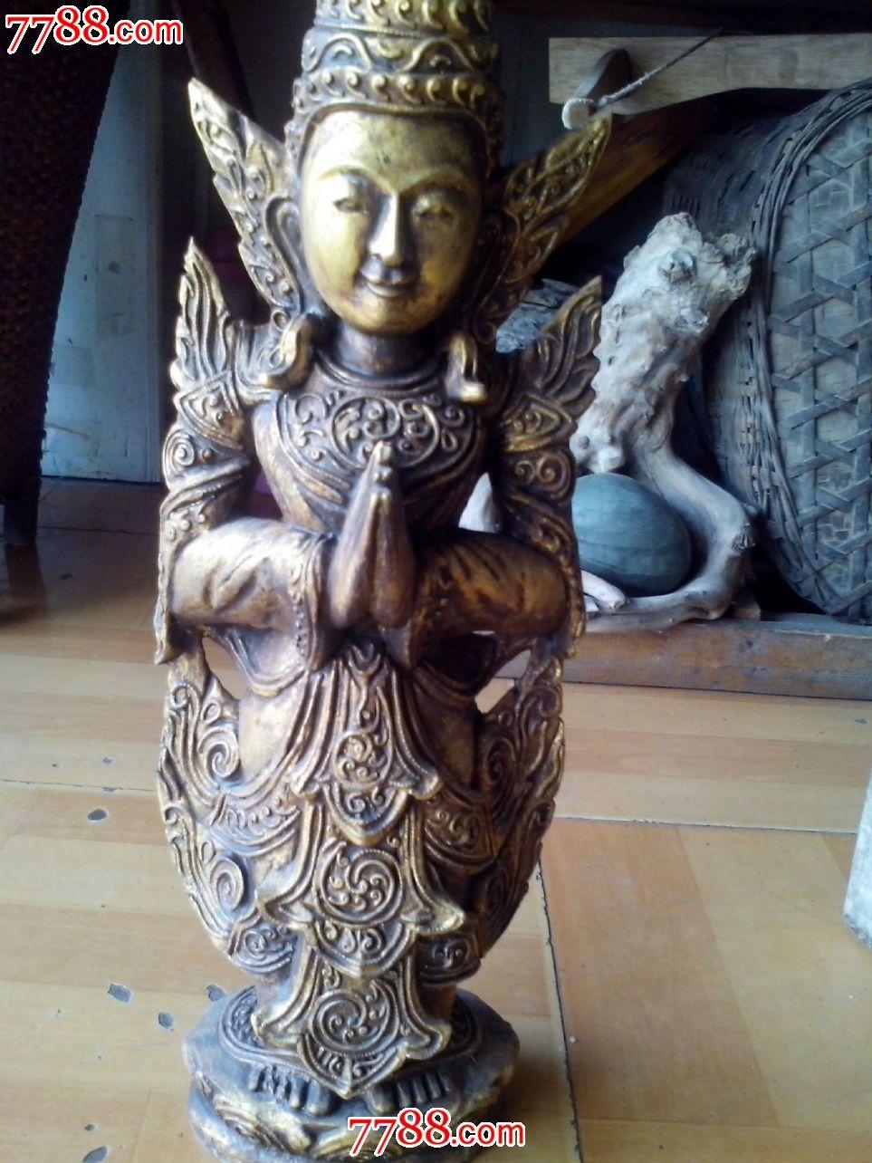 泰国木雕神像_第3张_7788收藏