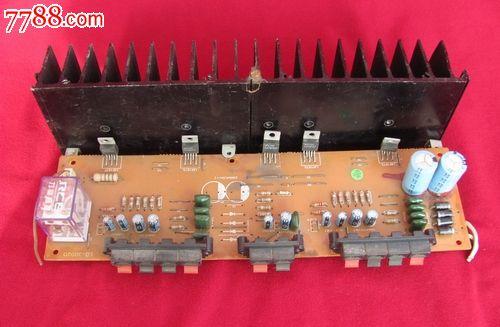 筒易晶体管功放机电路图.