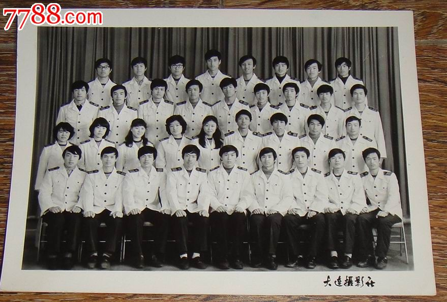大连海运学院(大连海事大学)自动化81届毕业超大幅照片【藏泉阁】_第1