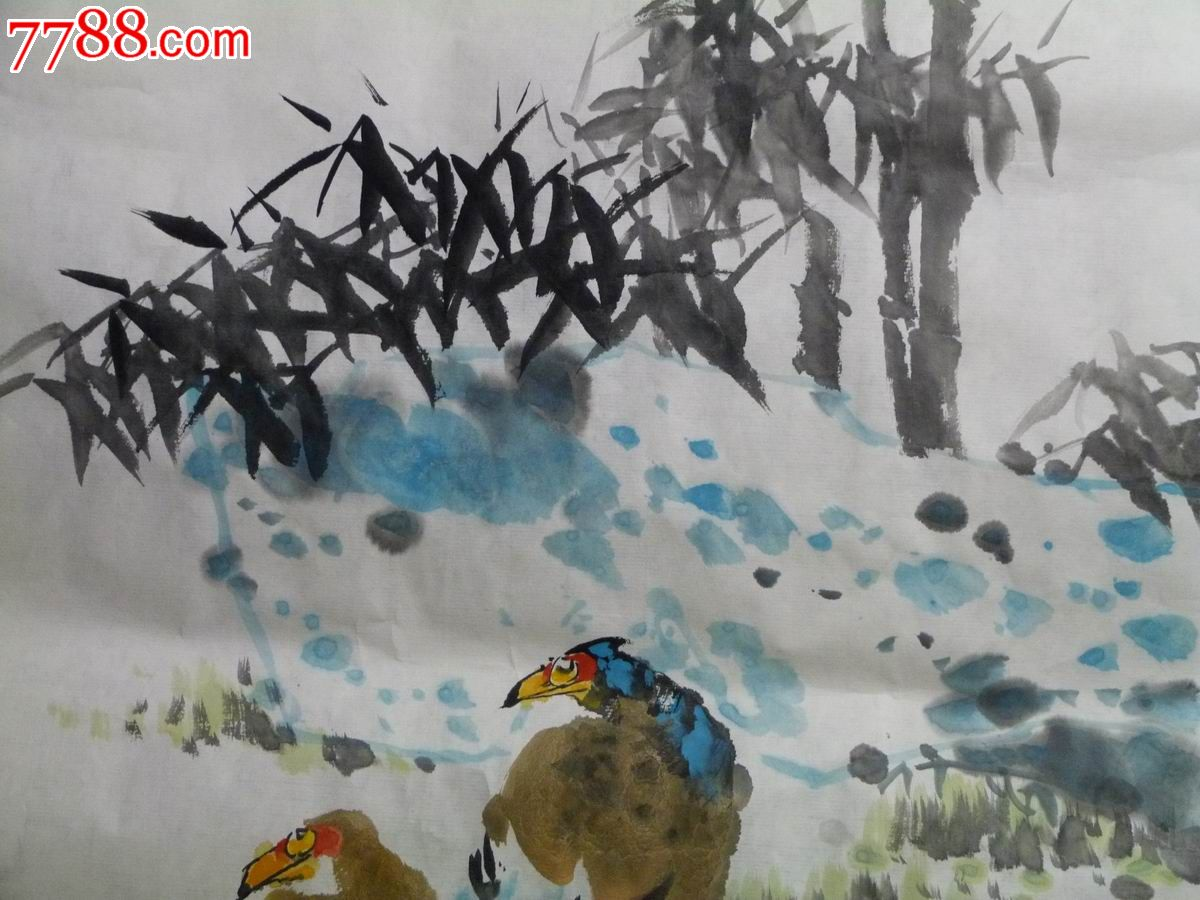 中国画写意花鸟画