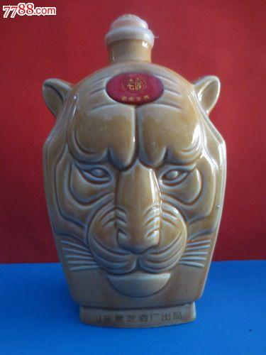 动物,中国大陆,,,,, 简介: 艺术酒瓶收藏-精美陶瓷老虎王酒虎头造型老