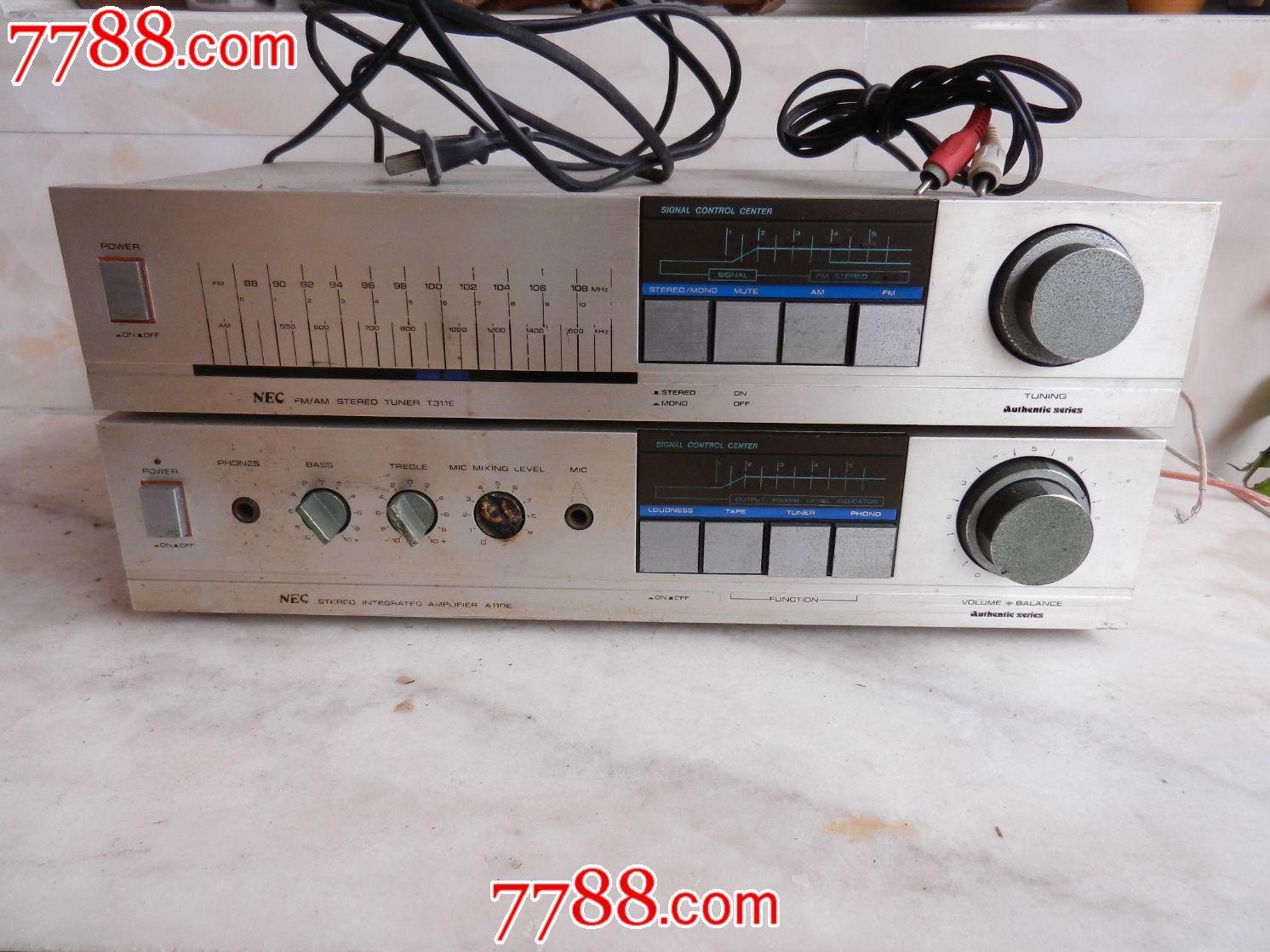日本原装进口的nec功放 收音机