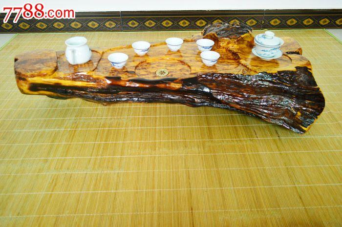 福建楠木根雕茶盘实木茶海茶台茶船-价格:120