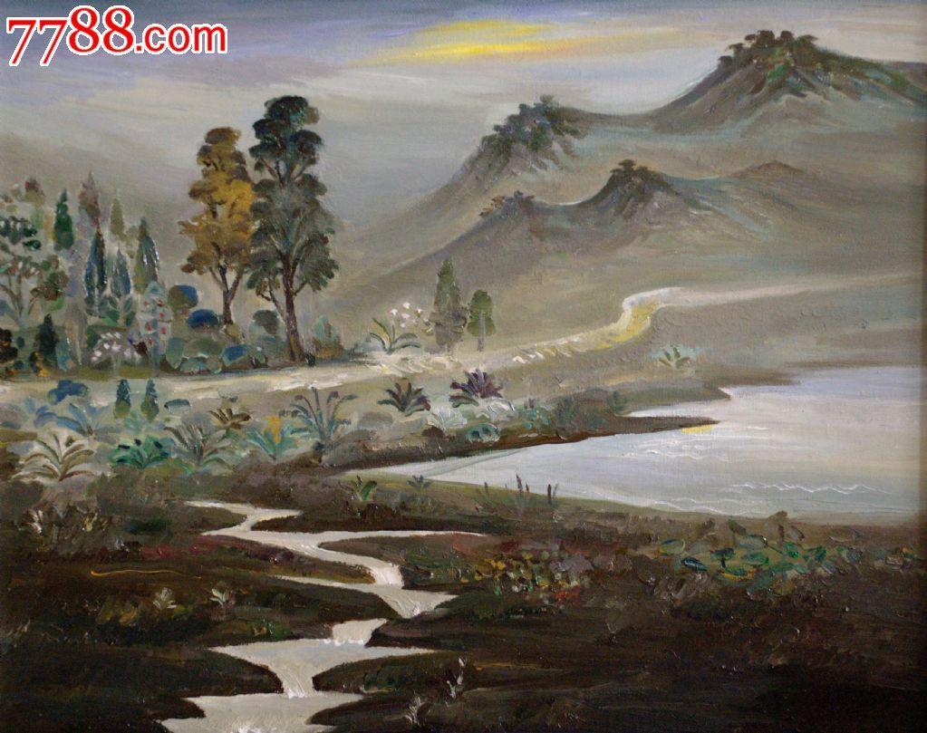当代原创风景油画