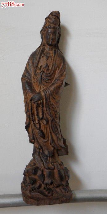 木雕观音菩萨