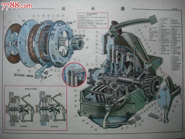 解放牌ca10b型载重汽车构造图册.汽车图册.汽车说明书