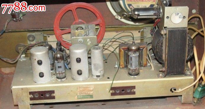 牡丹624-e型电子管收音机