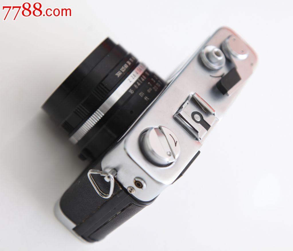 带包装,说明书/合格证的华中ptj-1d型135旁轴照相机收藏老相机
