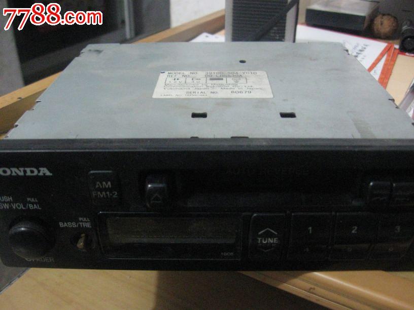 本田车载音响----收音机磁带