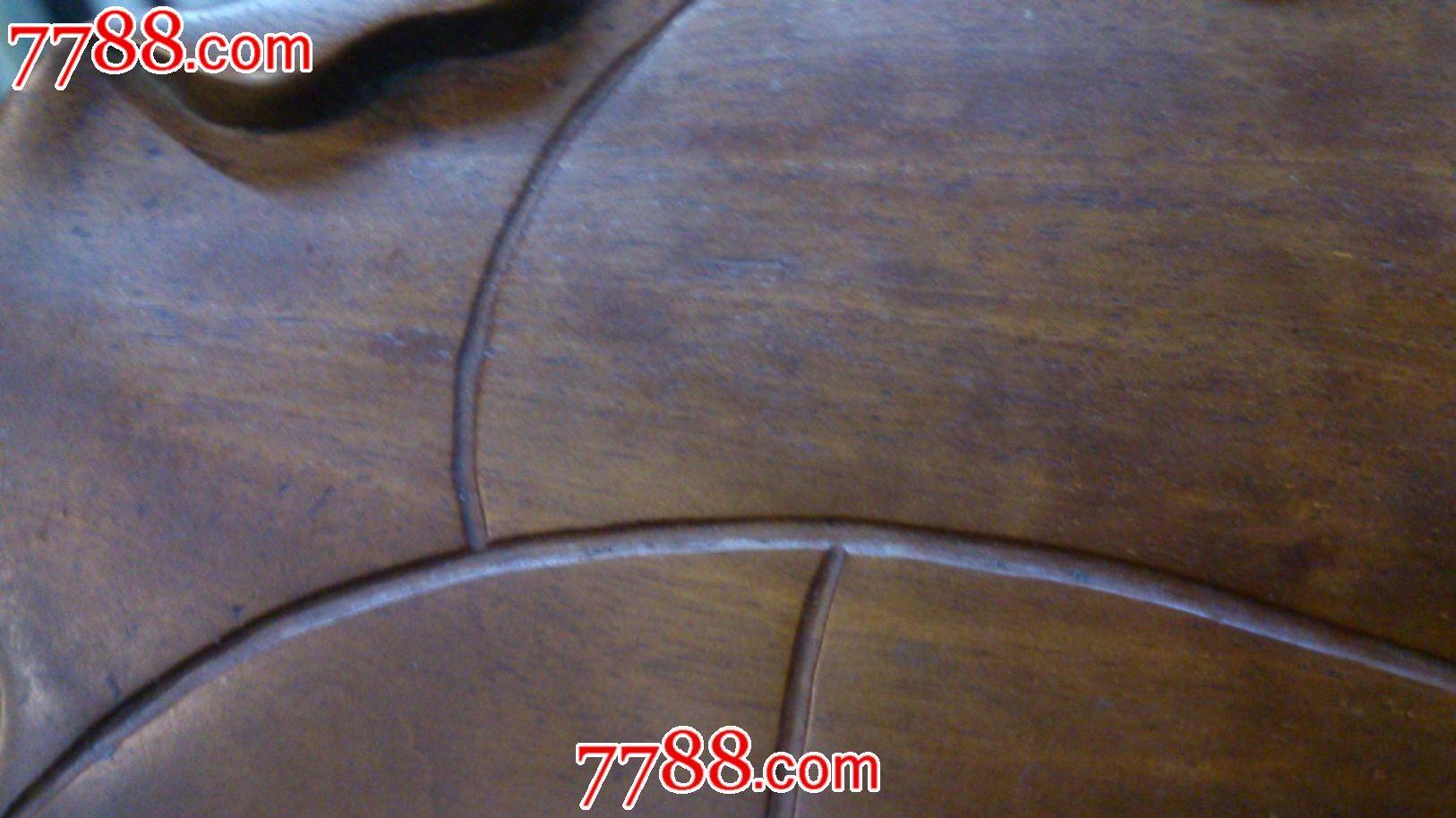 木雕树叶笔掭_第5张_7788收藏