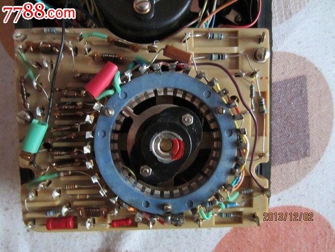 上海第四电表厂产mf12型万用表