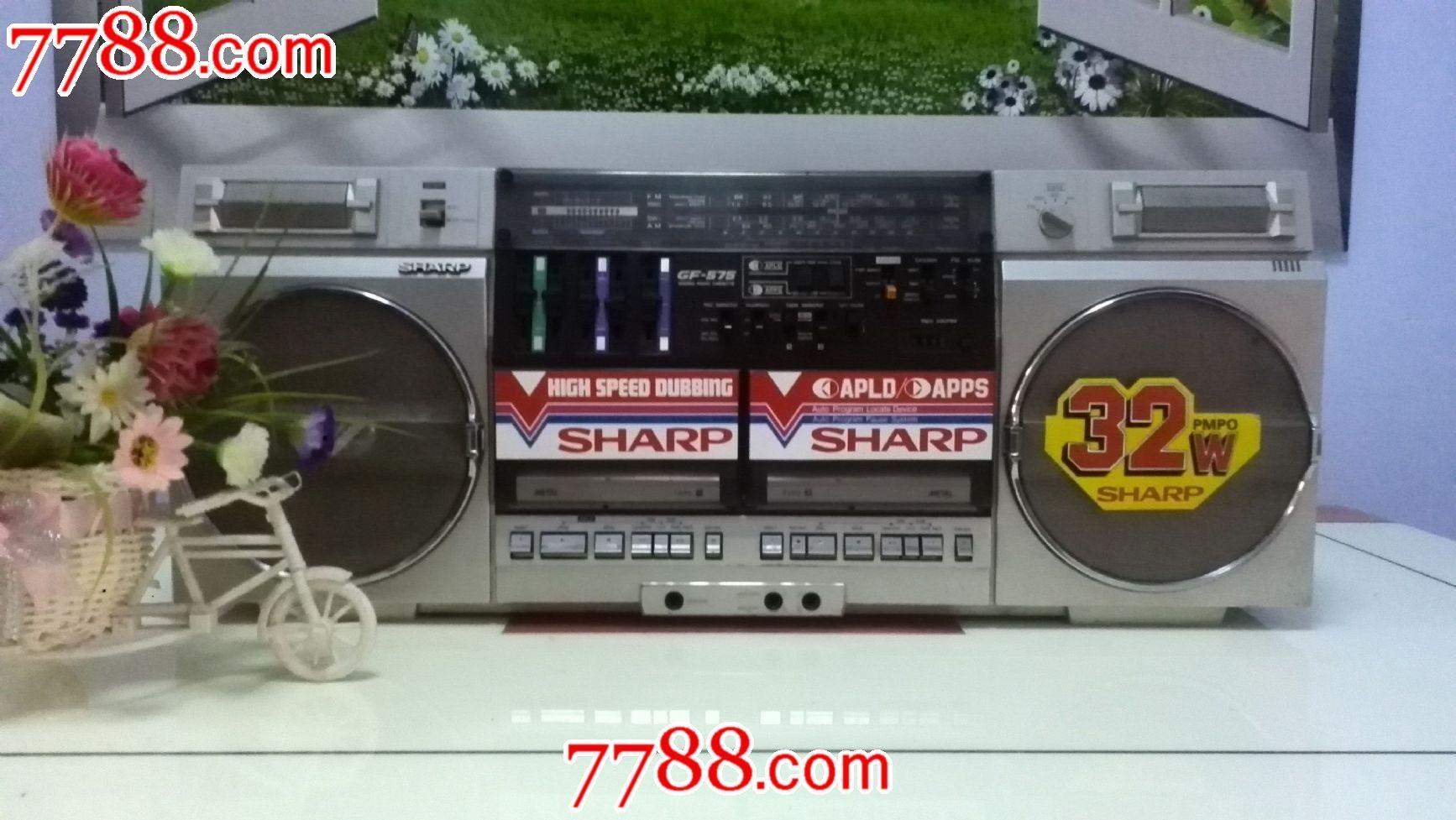 夏普gf-575zb收录机