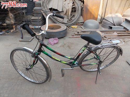 老自行车无链条传动自行车