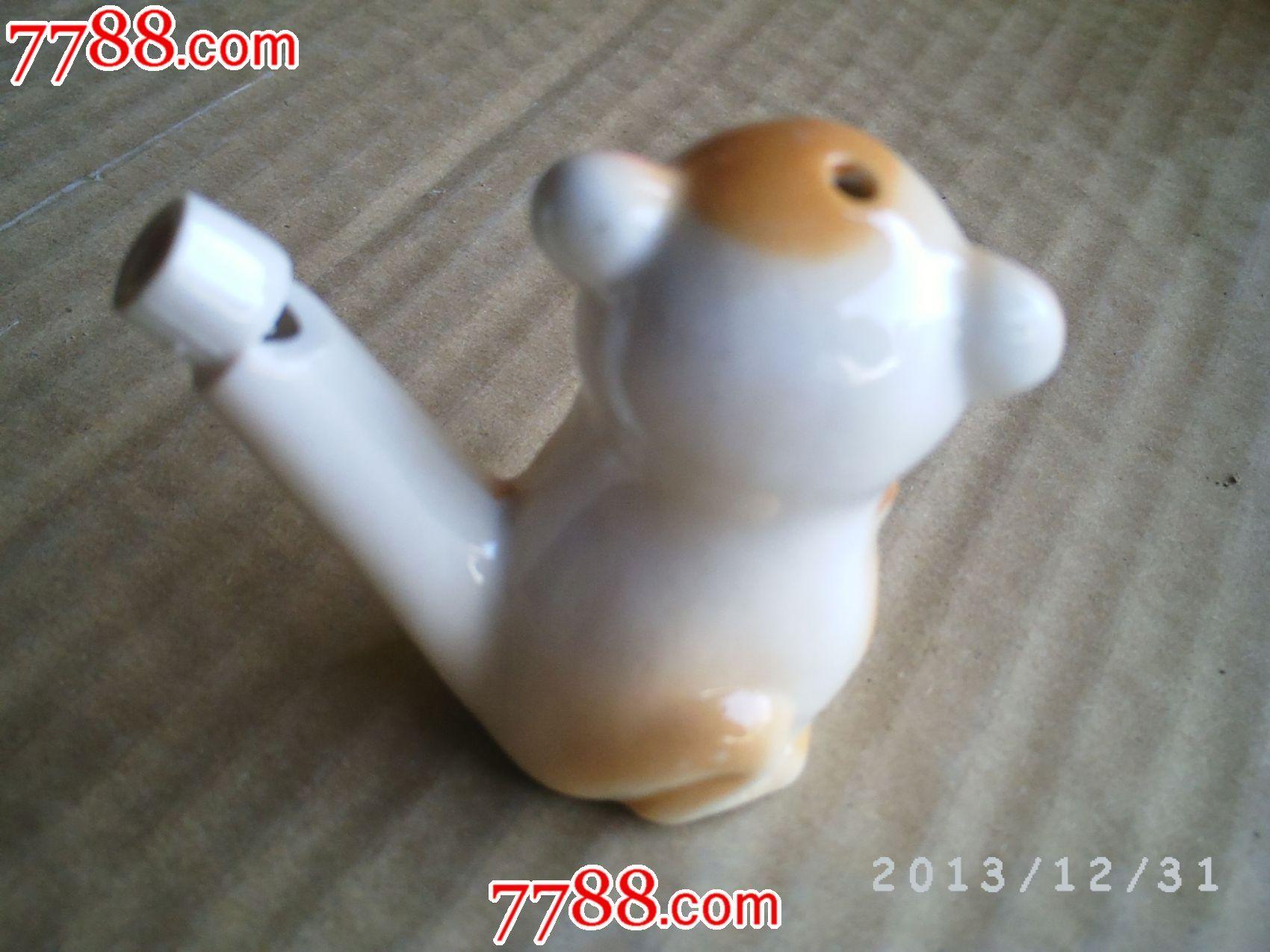 陶瓷动物---猴子偷桃