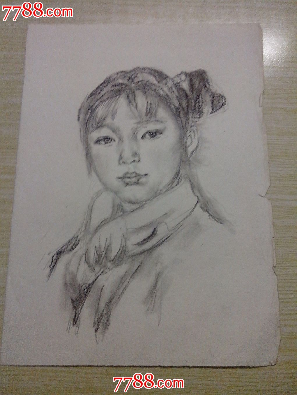 素描之小女孩_价格元_第1张
