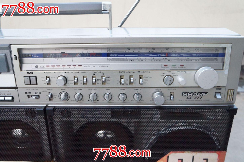 夏普777收录机