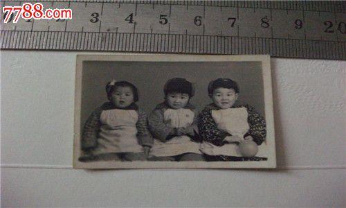 老相片-3个可爱的小孩