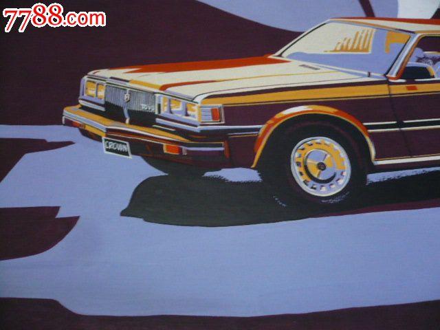 归纳色彩,水粉画小汽车,画的相当好漂亮