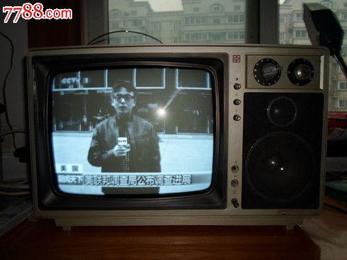 红梅14寸黑白电视机h3544