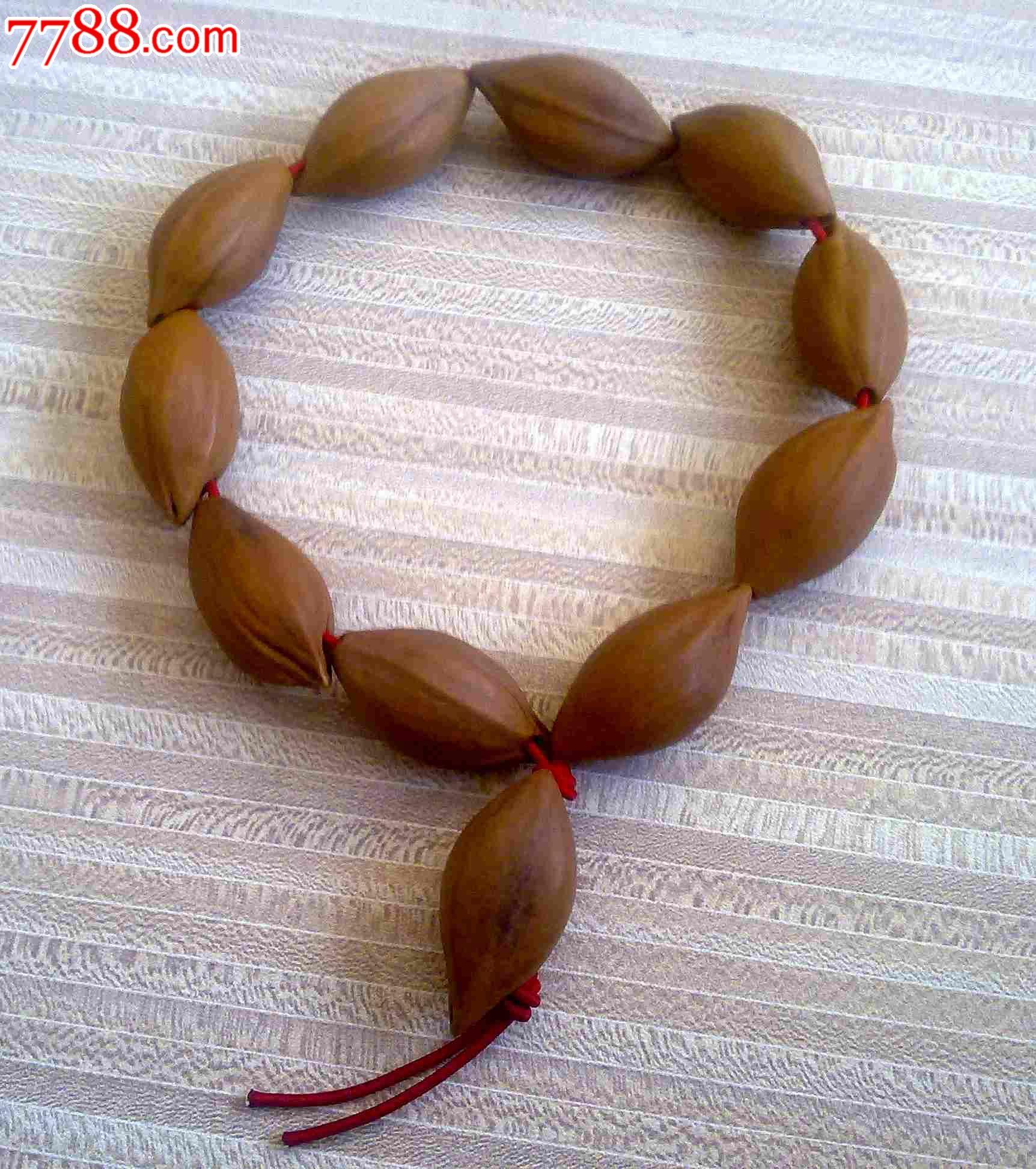 橄榄核手串小核有花皮