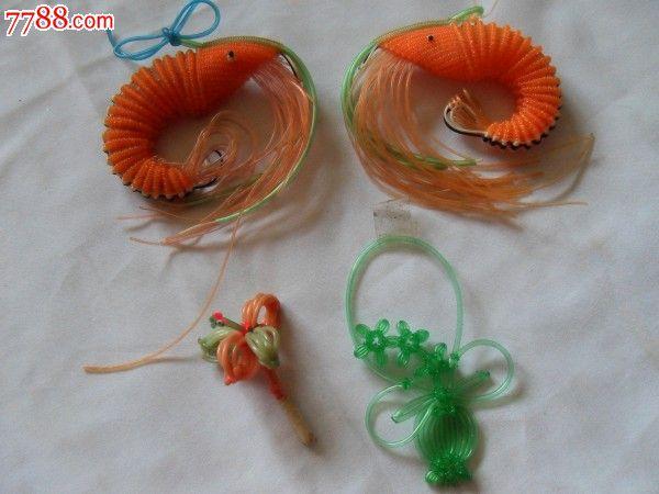 早期玻璃丝编织的动物(合售)