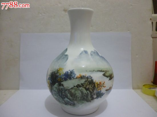 名家手绘瓷瓶