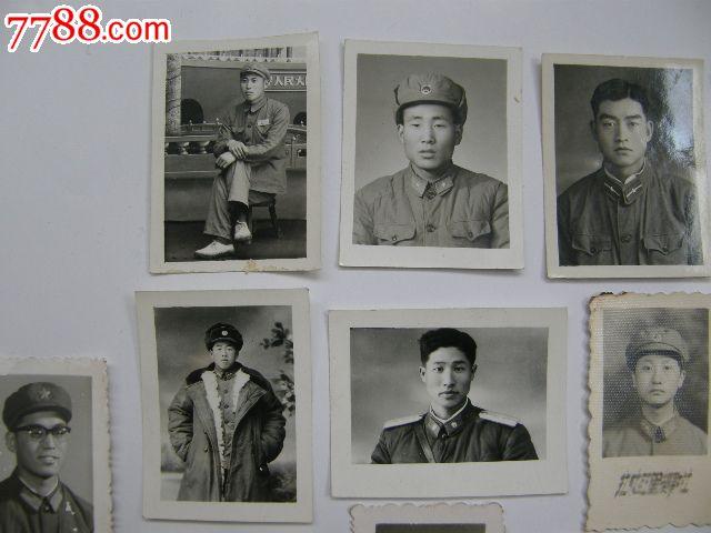 21张一寸军人老照片(50-70年代左右)