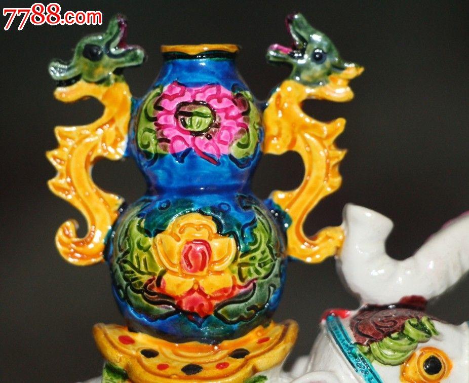 和平象和平象征摆件大像吉祥物幸福好运双龙得福幸福