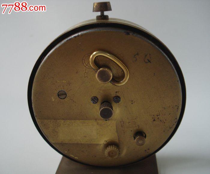 德国europa7钻机械圆形老闹钟迷你机械上发条老闹钟
