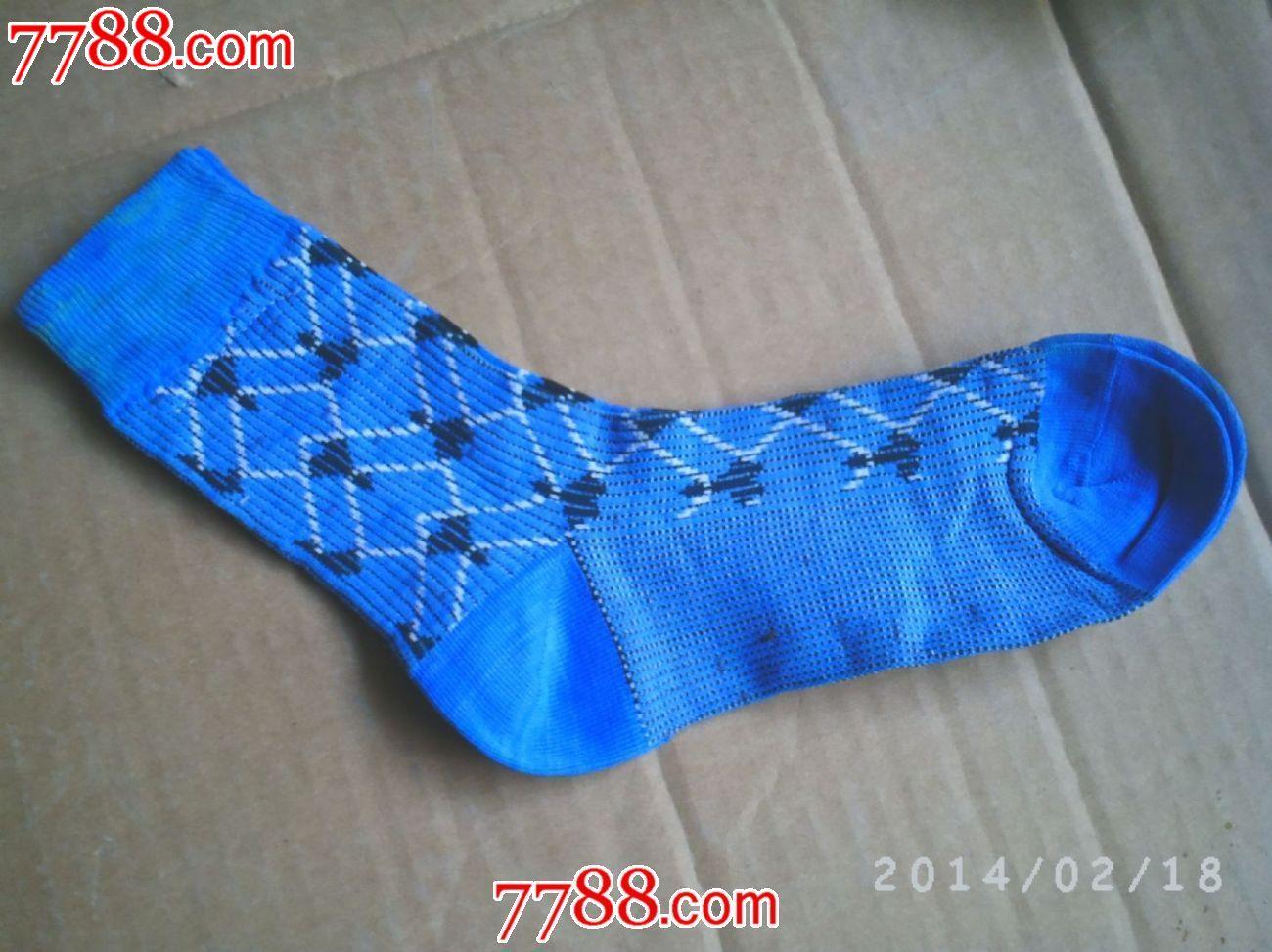 70-80年代的热门女式花纹尼龙袜子[未使用过的]_价格50.