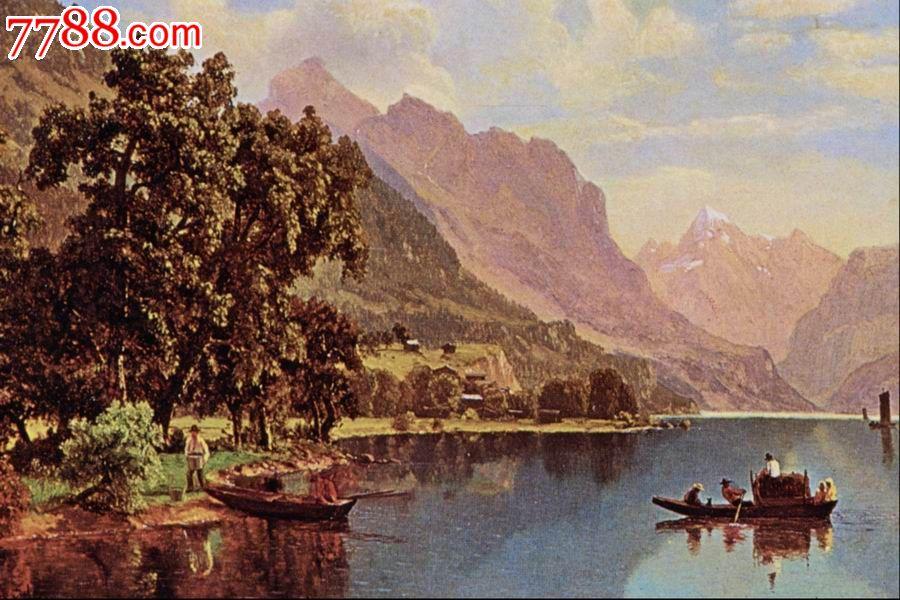 世界名画,欧陆风景,山,水,树,路,高清图片_议价_第1张_7788收藏__中国