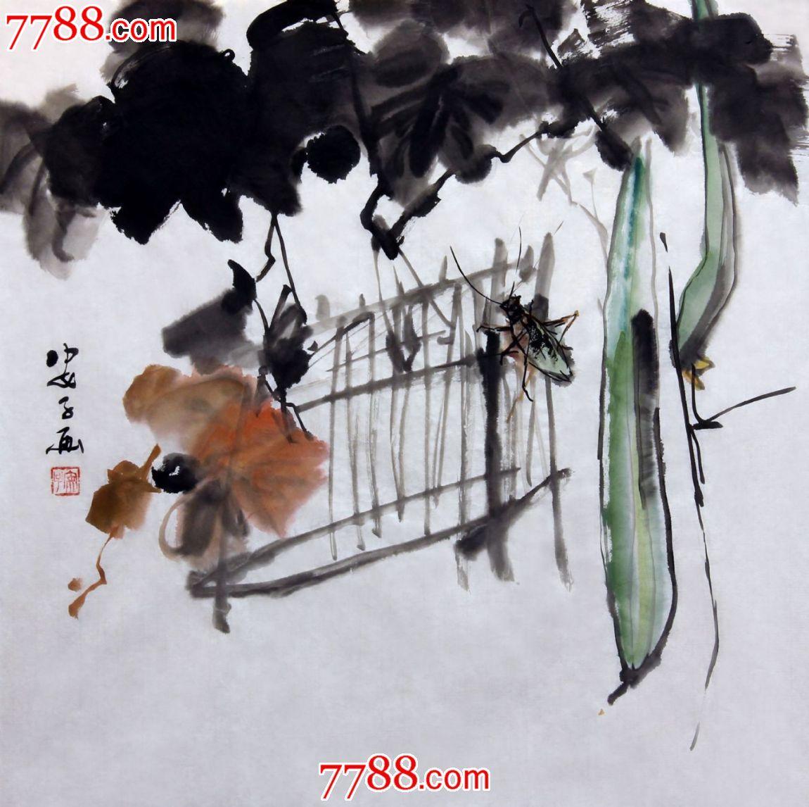 花鸟 花鸟国画原作 盛京阁