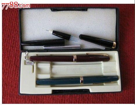 经典怀旧八十年代英雄牌钢笔hero一盒3支保老保真好品