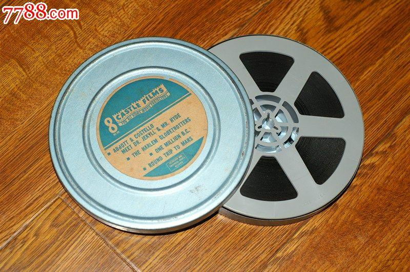 8mm电影胶片一盘