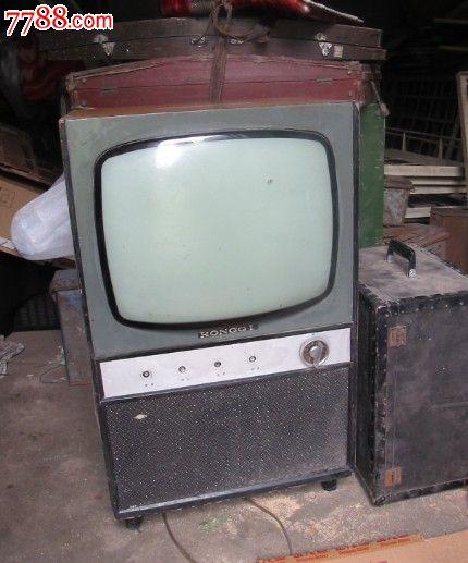 黑白电子管电视机电路图1英寸