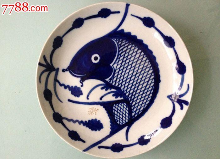 蛋糕盘鱼手工制作图片