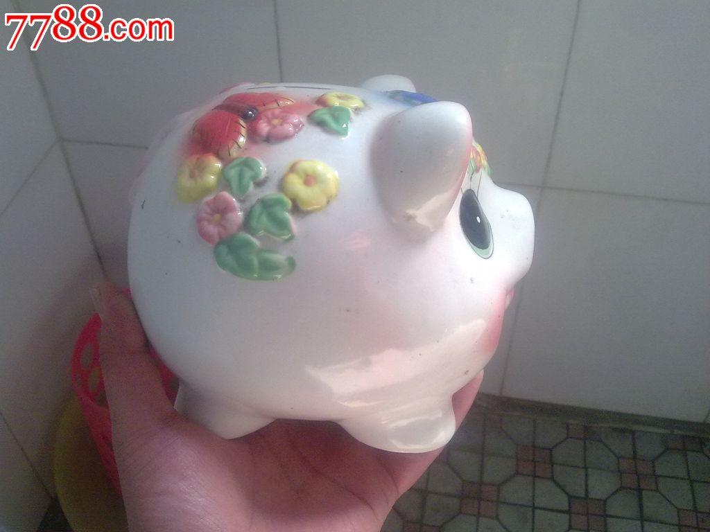 可爱的小猪存钱罐-se22729531-彩绘瓷/彩瓷-零售-7788