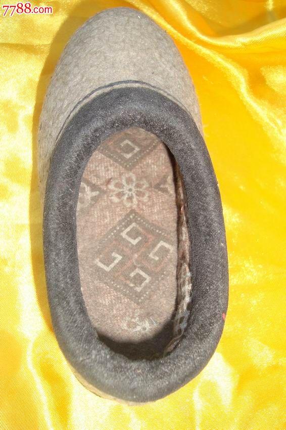 朝鲜手工制作《儿童虎头布鞋模》