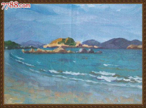 《海景:天堂》作品写自福建省平潭县平潭岛海边