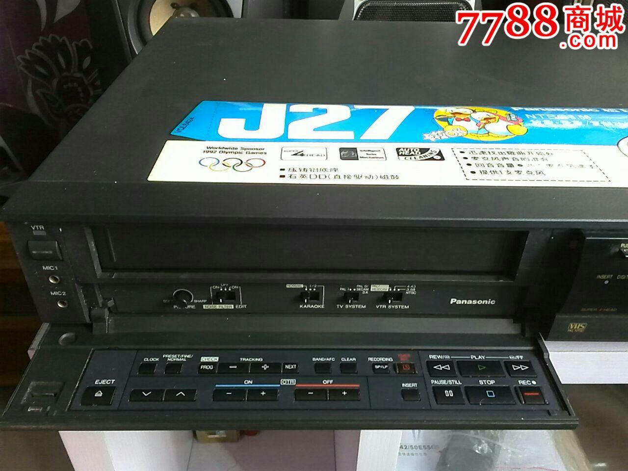 松下j27录像机