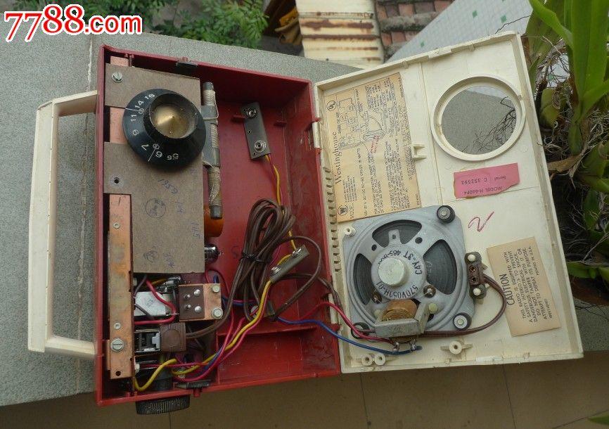 西屋直流电子管收音机
