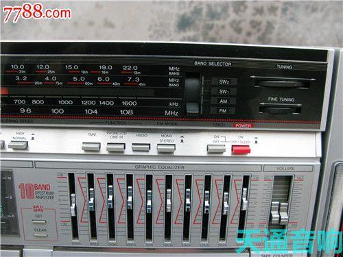 夏普sharp白金版单卡收录机型号gf-939z