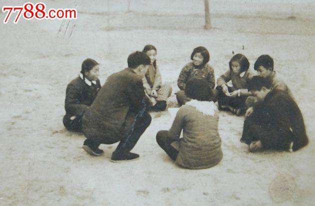 老照片:v校歌校歌,河南开封市第三小学(见背面印红星路初期小学图片