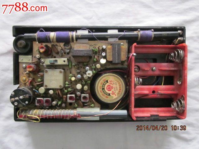 美乐1b2型晶体管收音机.