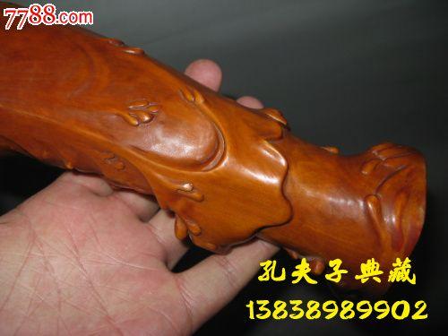 老木雕老黄杨木观音精工雕刻包浆漂亮古色古香潜力