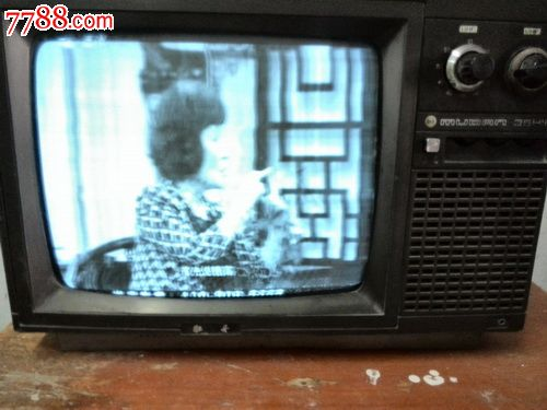 牡丹14吋黑白電視機