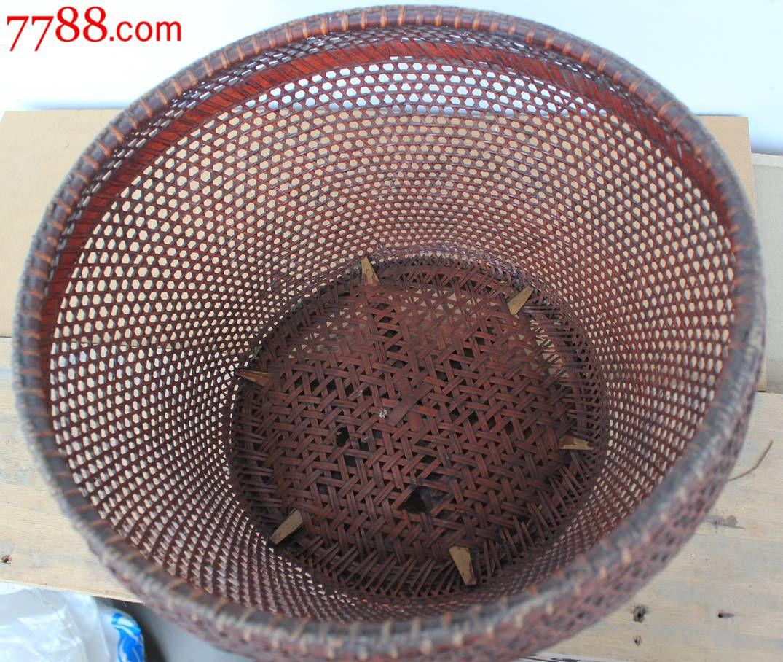圆竹篮-se23791341-竹篮/竹筐/竹盒-零售-7788收藏