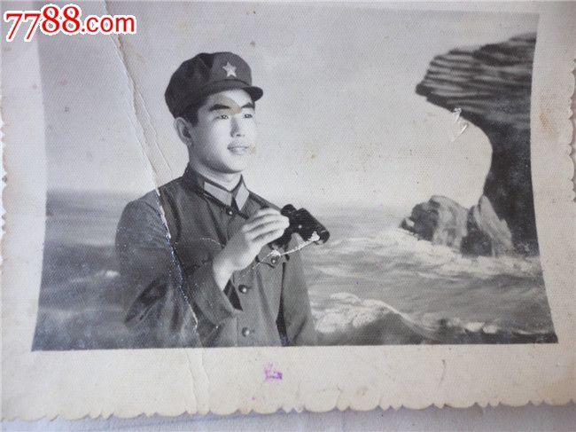 海岛哨兵_老照片_红色经典书店【7788收藏__中国收藏