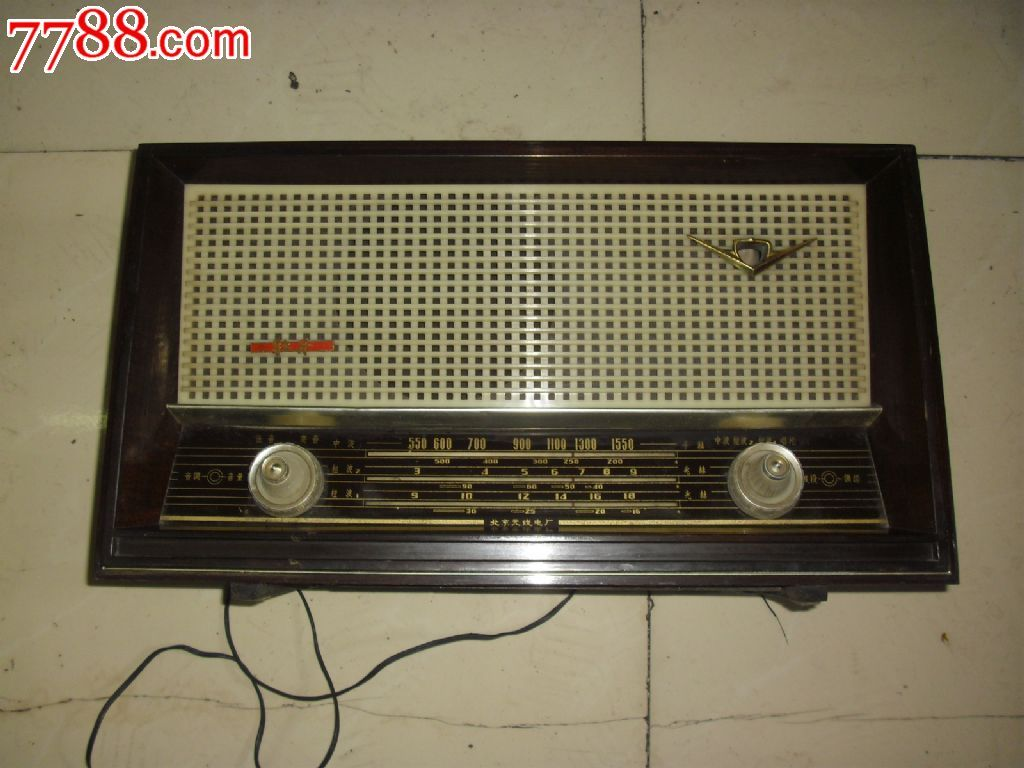 非常新机器未修过的牡丹6204c型收音机