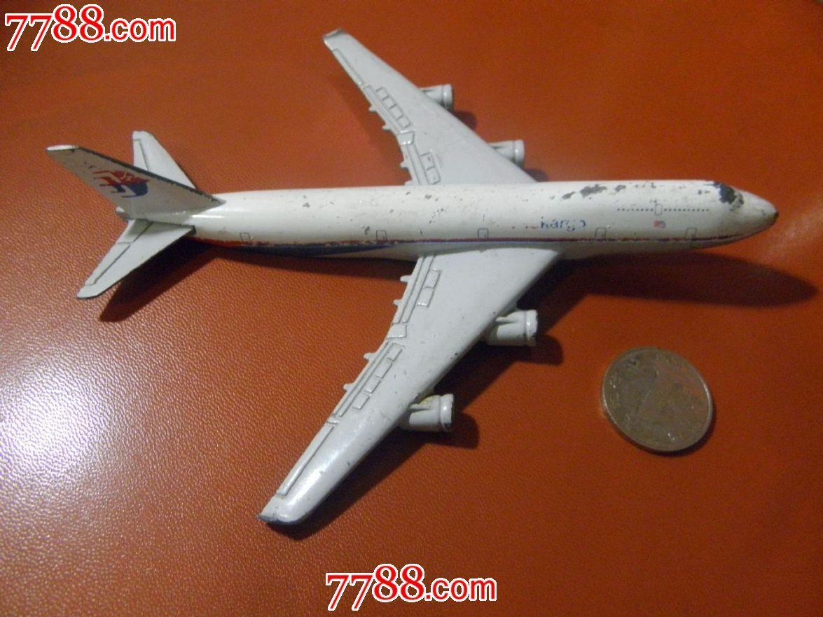 民航飞机模型b747-400_价格25.